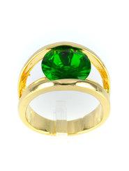 """Кольцо """"Зелёное счастье"""""""