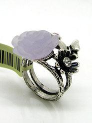 """Кольцо """"Фиолетовая роза"""""""
